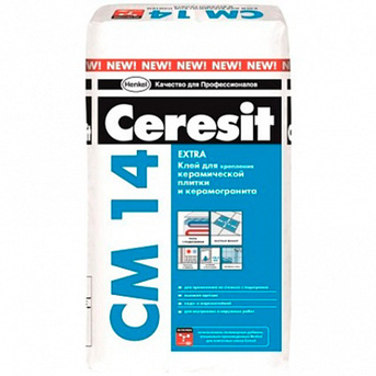 Клей плиточный CM 14 (СМ 14) Ceresit (Церезит)