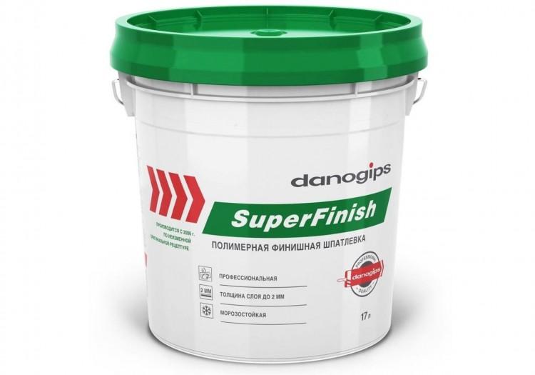 Шпаклевка полимерная SuperFinish (СуперФиниш) DANOGIPS