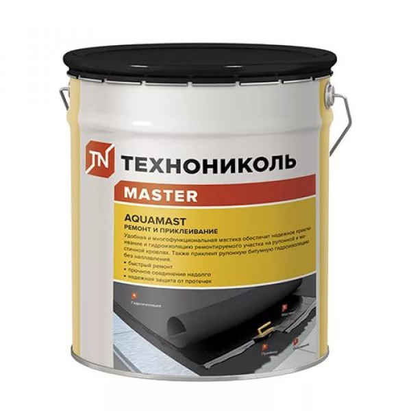 "Мастика для ремонта Аквамаст ""Технониколь"" (18кг)"