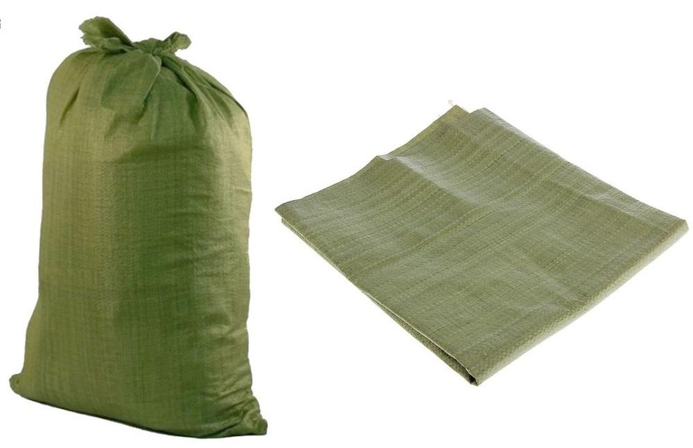 Мешок зеленый 55х95