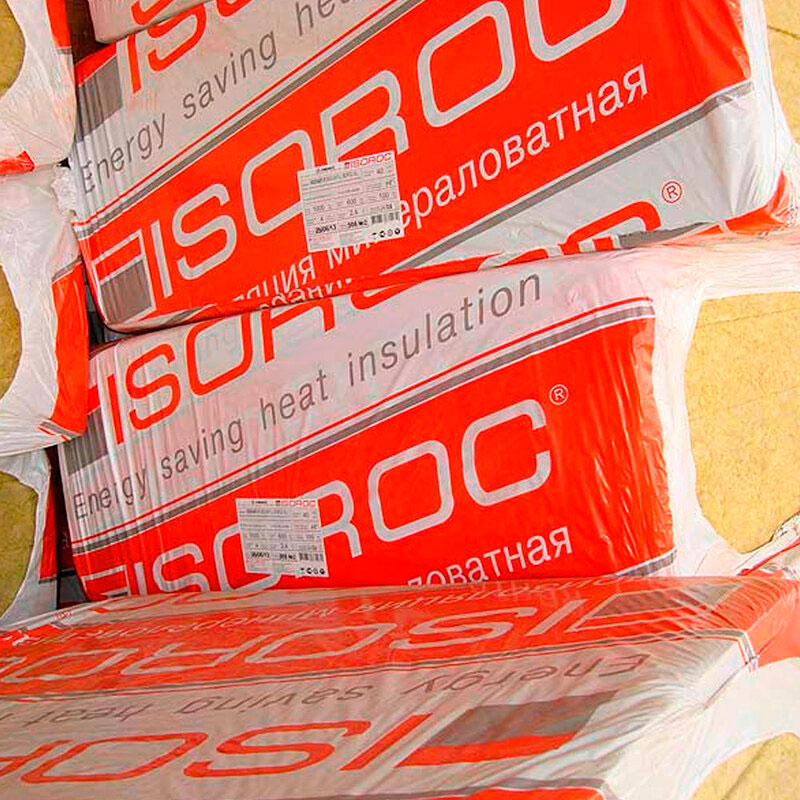ISOROC (Изорок) ИЗОЛАЙТ Л (40кг/м3)