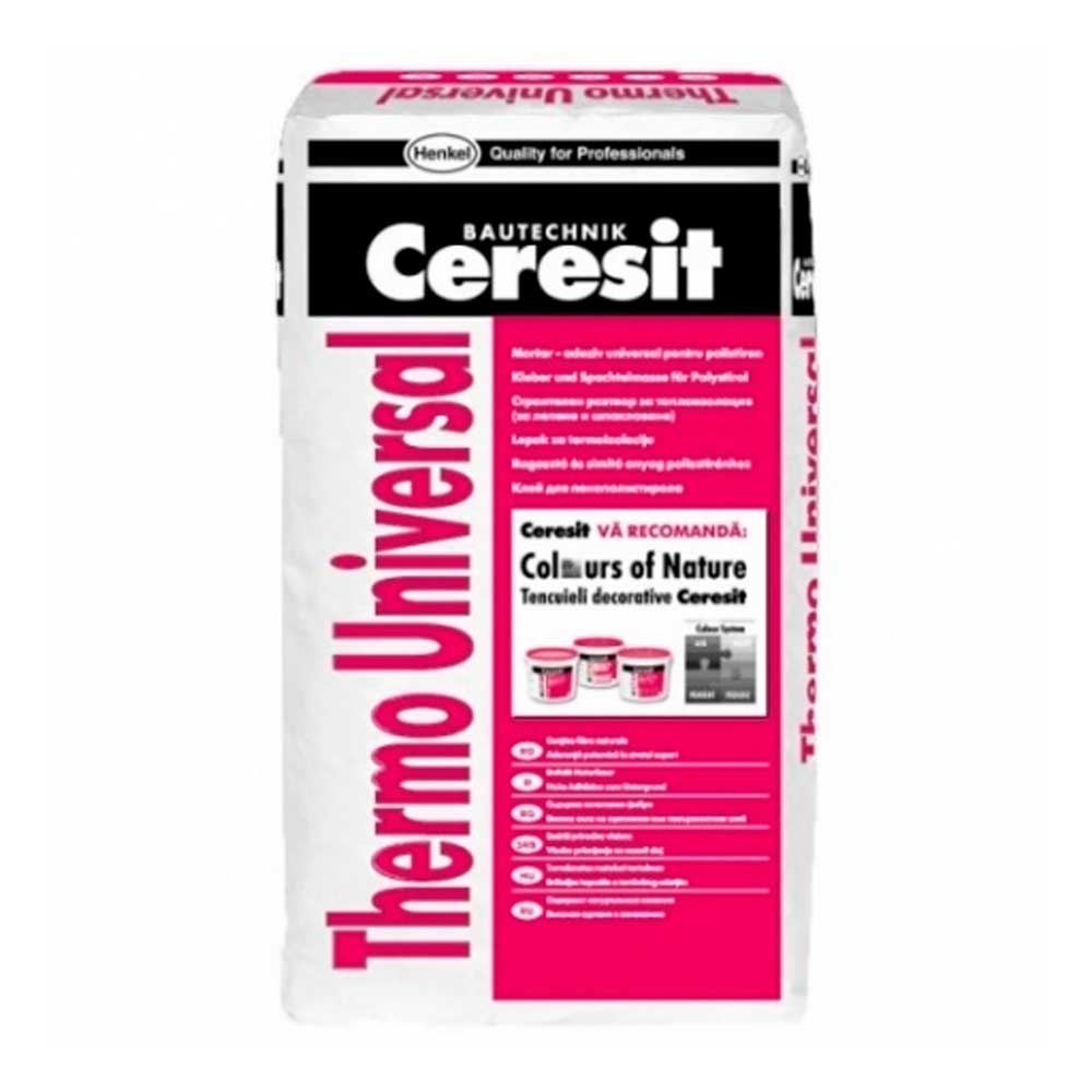 Клей для утеплителя Ceresit Thermo Universal (Церезит Термо Универсал)
