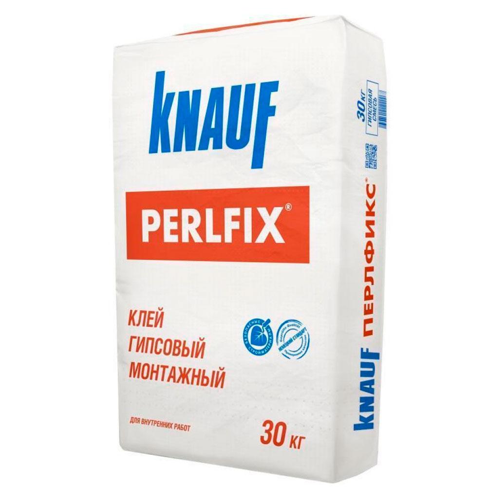 Клей гипсовый монтажный  Perlfix (Перлфикс) Knauf (Кнауф)