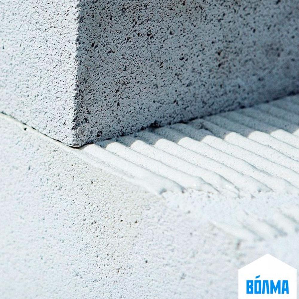 Монтажный клей для ячеистого бетона Блок Волма