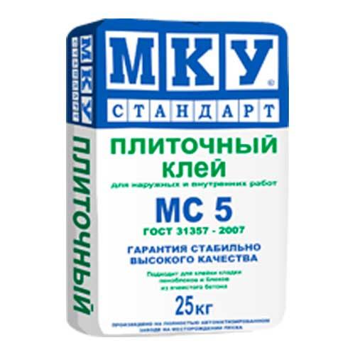 Плиточный клей МС 5 МКУ