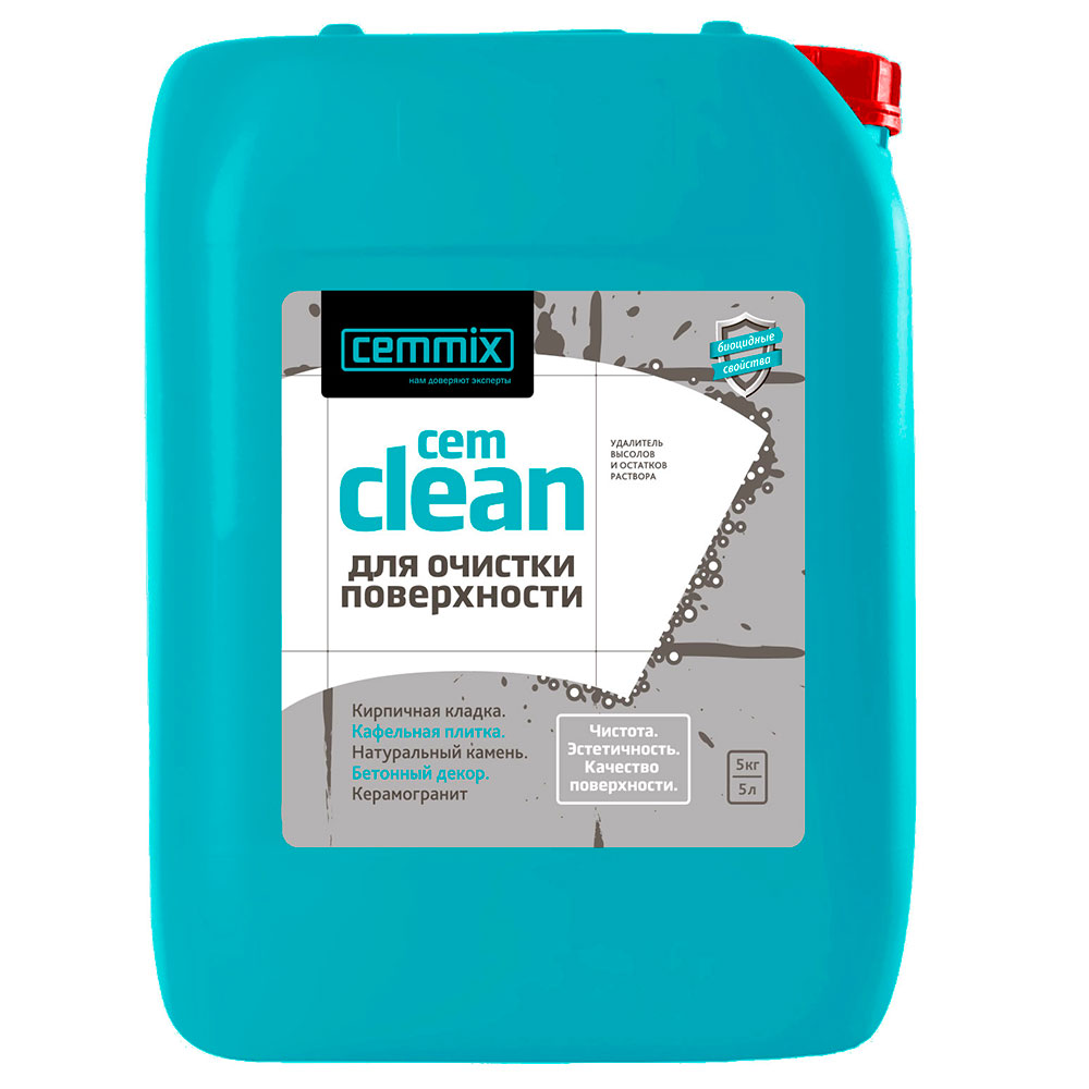 Очистка от высолов Цеммикс (Cemmix) Цемклин (CemClean)