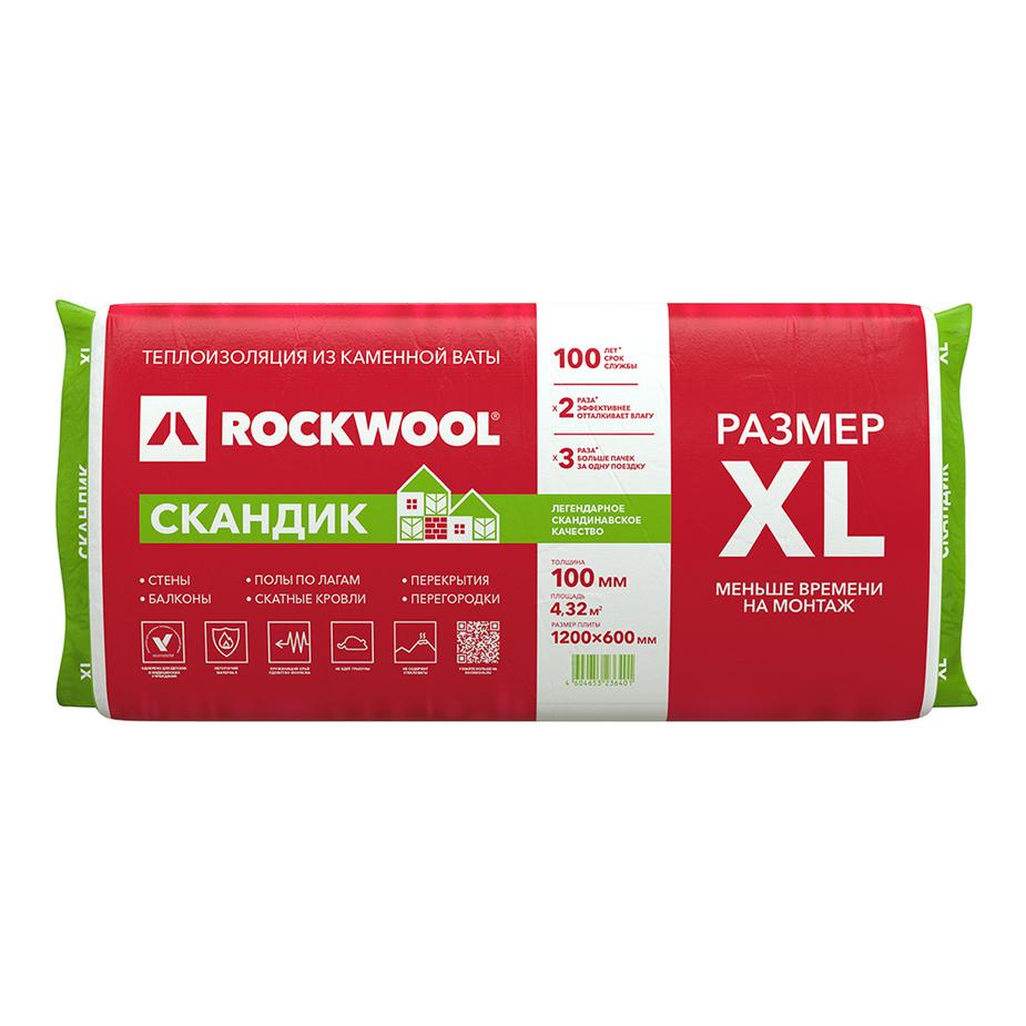 ROCKWOOL Скандик лайт баттс1200*600*150 (3,6м2) (0,54м3) (20шт/под)