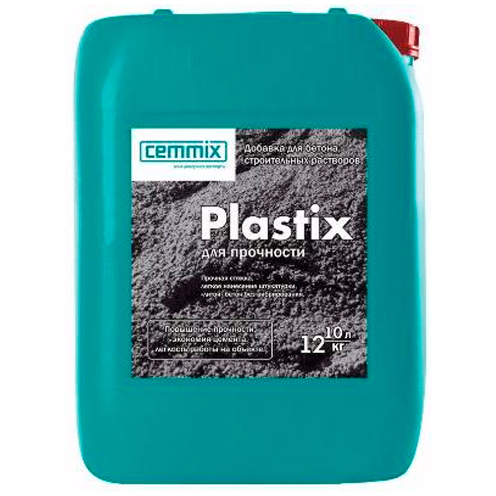 Пластификатор для бетона Цеммикс (Cemmix) Пластикс (Plastix)