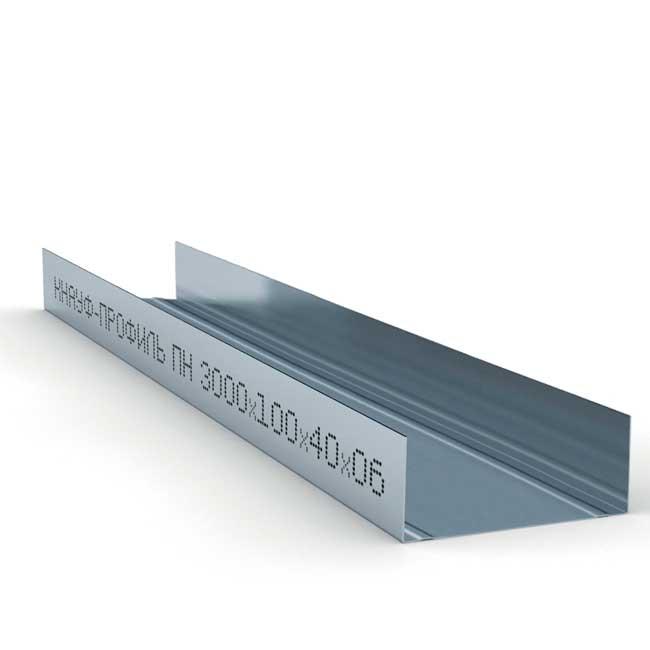 Профиль Кнауф ПН-6 100x40