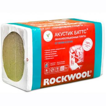 Rockwool (Роквул) АКУСТИК БАТТС 100 мм