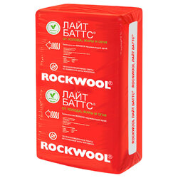 Rockwool (Роквул) ЛАЙТ БАТТС 100 мм 35 кг/м3