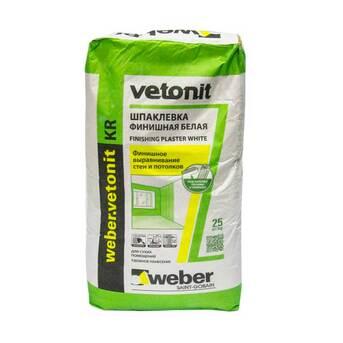 Шпатлевка Vetonit KR (Ветонит КР) Weber (Вебер)