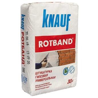 Штукатурка гипсовая Rotband (Ротбанд) Knauf (Кнауф)