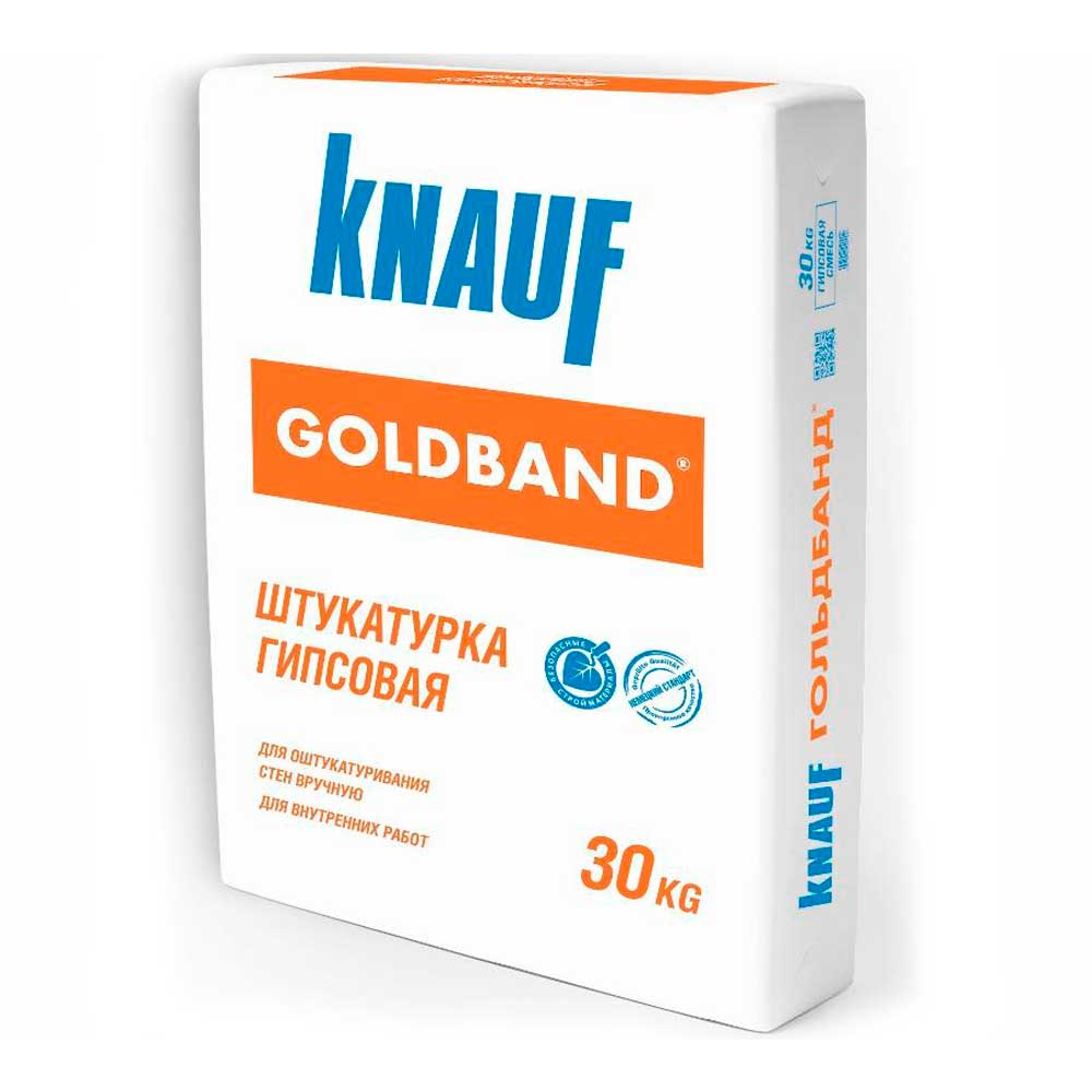 Штукатурка гипсовая Goldband (Гольдбанд) Knauf (Кнауф)